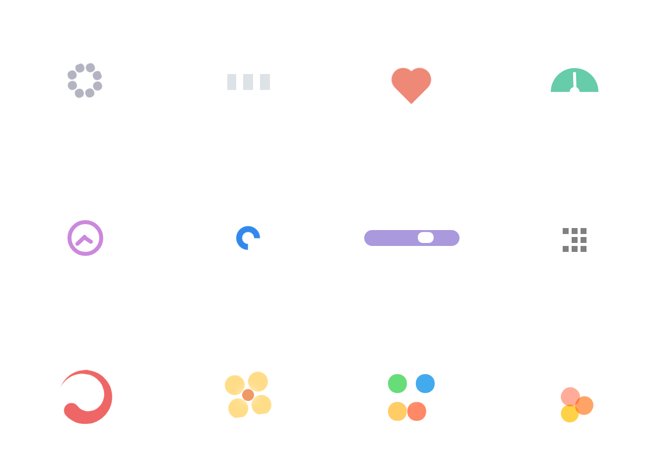 css3 spinner collection