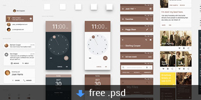 free-material-design-ui-kit