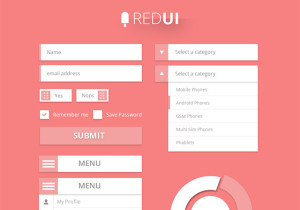RED UI Design Kit