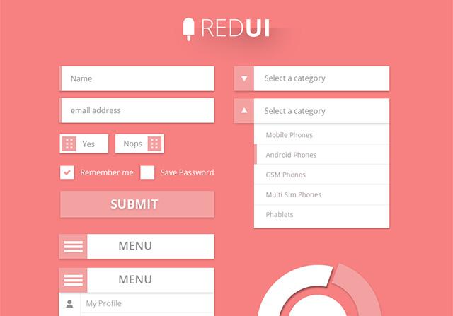 RED UI Design Kit