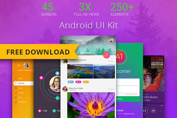 Android ui kit