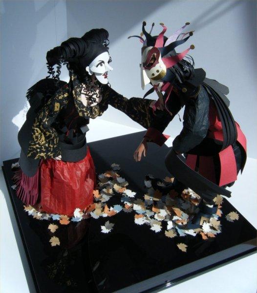 Carnevale jester