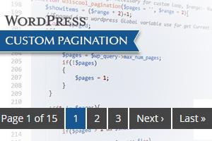 Wordpress custom post pagination