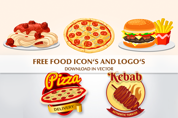 Free food icons and logos