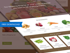 grocery-landing-page-w3iscool