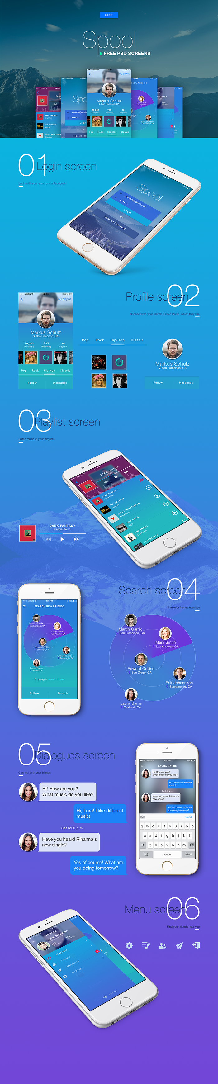 iOS Mobile UI Kit