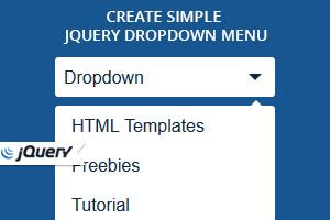 Jquery Dropdown menu