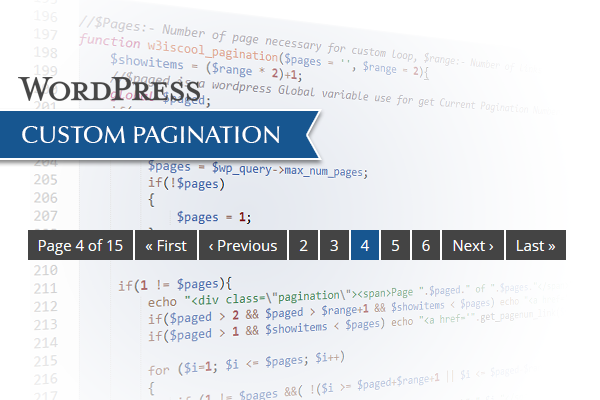 WordPress Custom post pagination